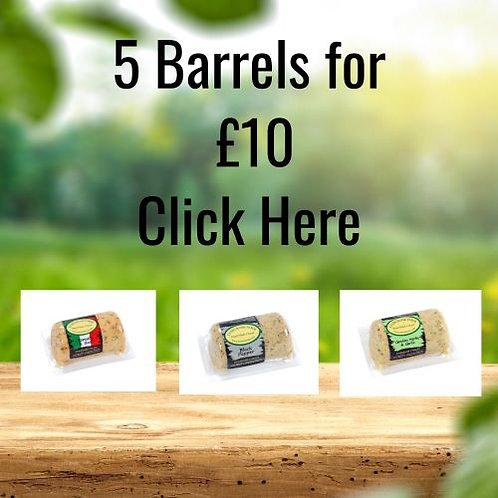 5 SIGNATURE BARRELS FOR £10