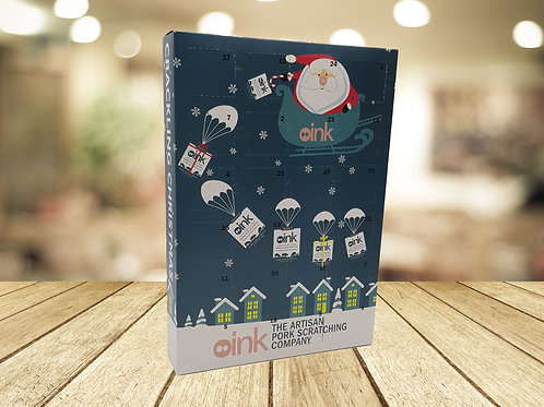 Pork Scratchings ADVENT CALENDAR - Free Delivery