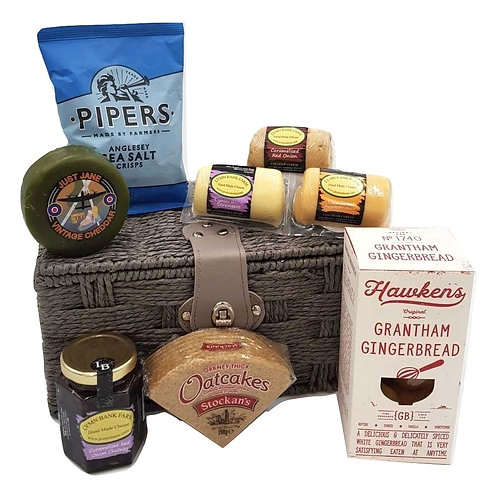 SIGNATURE BARREL SNACK HAMPER
