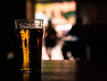 Man drinks beer then vomits blood