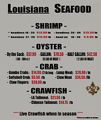 Louisiana Seafood - Cajun Meat Company
