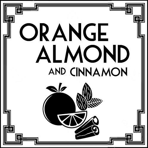 Orange, Almond and Cinnamon Tart