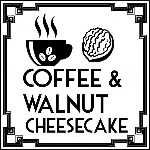 Coffee and Walnut Cheesecake