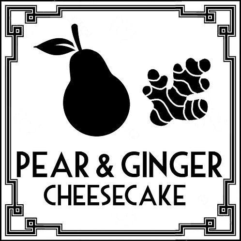 Pear and Ginger Cheesecake