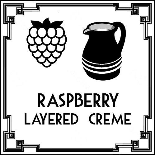 Raspberry Layered Creme