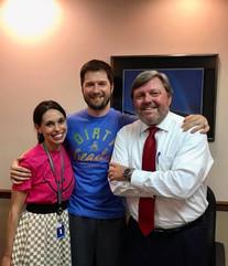 Steve and Ashlei Kishel with Atty. Michael Bailey