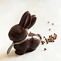 Bunny with Poo - Dark (dairy-free)