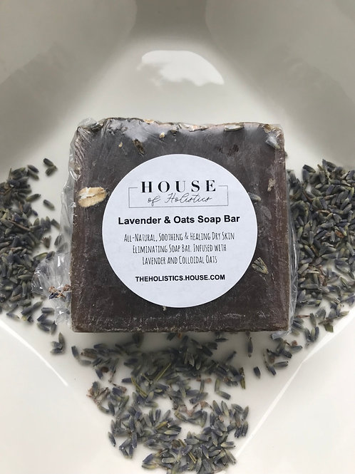 Lavender Oats Soap Bar