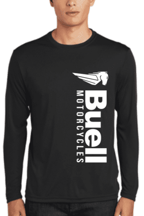 Long Sleeve Competitor Tee Vertical