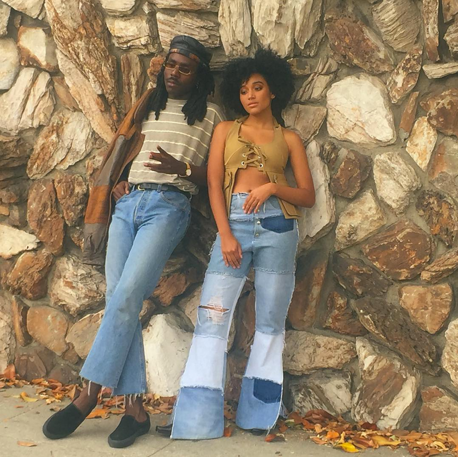 "Dev Hynes and Amandla Stenberg from BLOOD ORANGE ""Best To You"" dir. by Luke Gilford"
