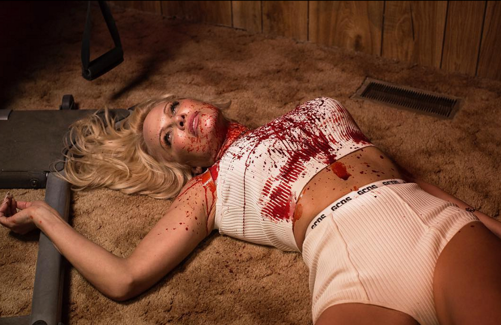 Pamela Anderson for GCDS by Nadia Lee Cohen