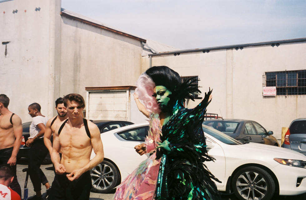 """TODRICK HALL from """"Low feat. RuPaul"""" dir. by Aaron Moorhead and Justin Benson"""