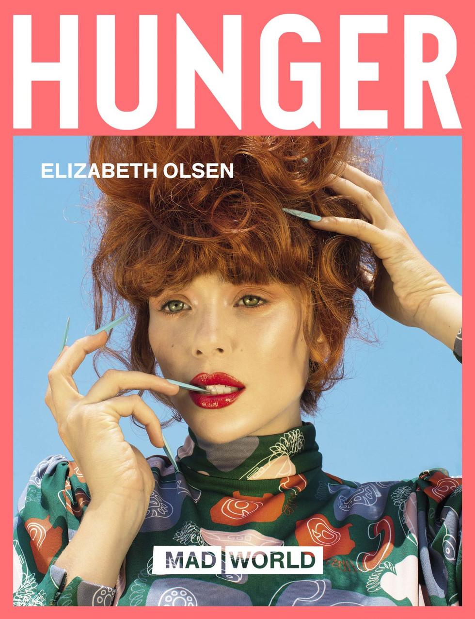 Elizabeth Olsen for Hunger Mag photo by Nadia Lee