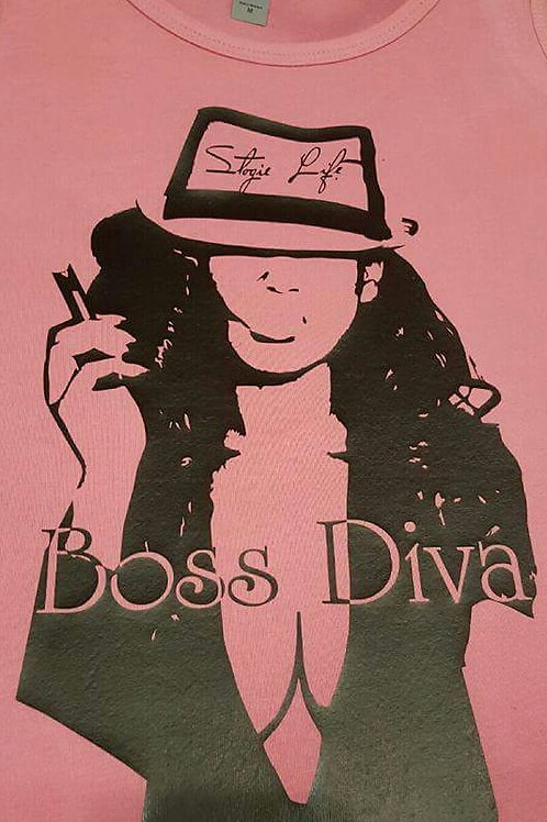 Boss Diva Series Tee