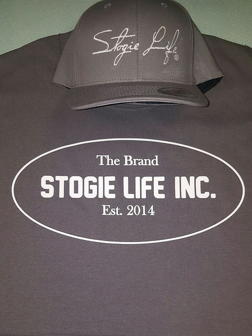 Stogie Life Oval Tee & Cap Combo