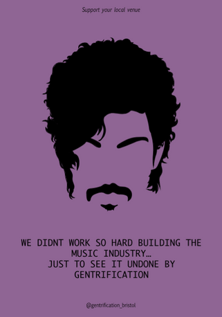 """Prince says... """"Don't Gentrify'"""