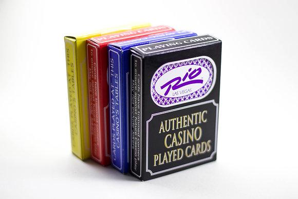 Authentic Las Vegas Played Casino Cards