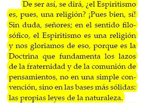 espiritismo y religion