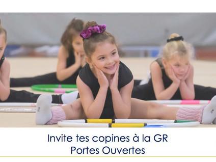 """Opération """"invite tes copines"""" & Portes Ouvertes"""