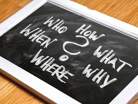 ここを見れば聞きたいことの答えがわかる!そんなQ&Aコーナーを作ります!