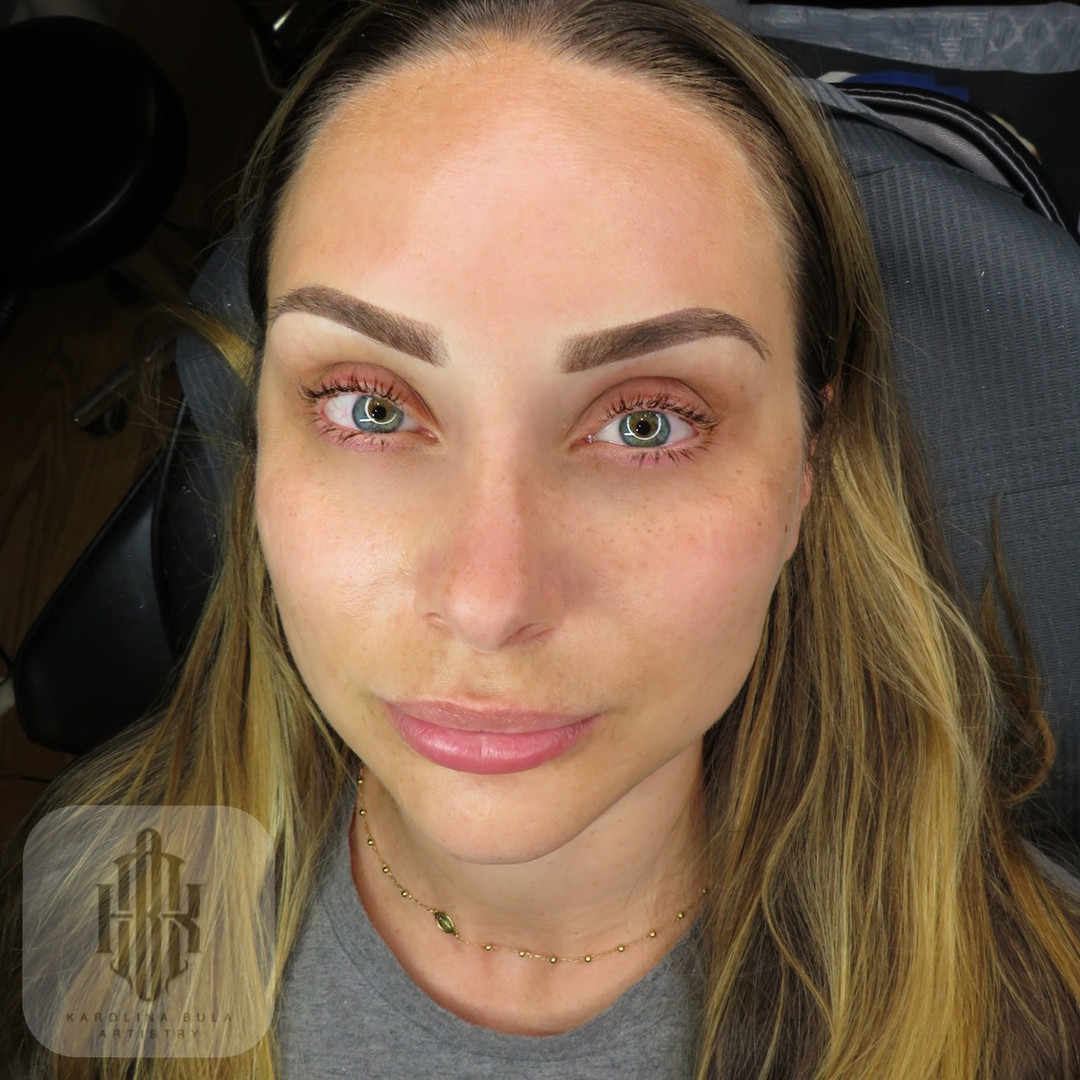 Blonde Ombre Brows
