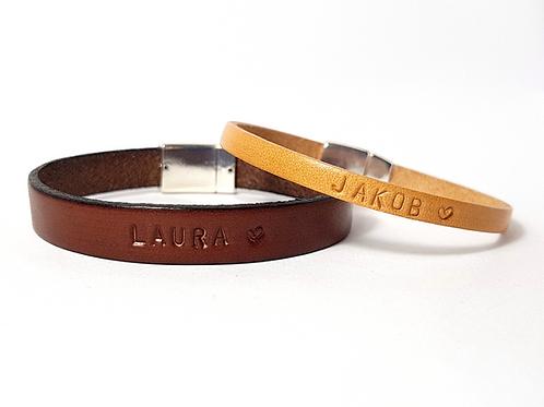 YOU & ME Partnerarmbänder Leder Armband