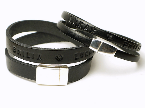 YOU & ME Partnerarmbänder Leder Armband