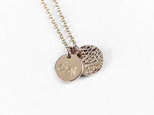 MyLOVE! Initial Kette 925 SILBER rosévergoldet