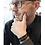 Thumbnail: Lederarmband mit Koordinaten personalisiert mit Wunschtext