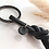 Thumbnail: Schlüsselanhänger Leder & Edelstahl
