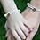 Thumbnail: AHOI! Armband SET Leder & 925 SILBER Partnerarmbänder