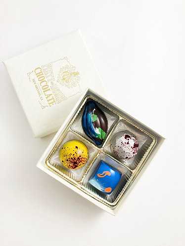4 pc Bonbon Box