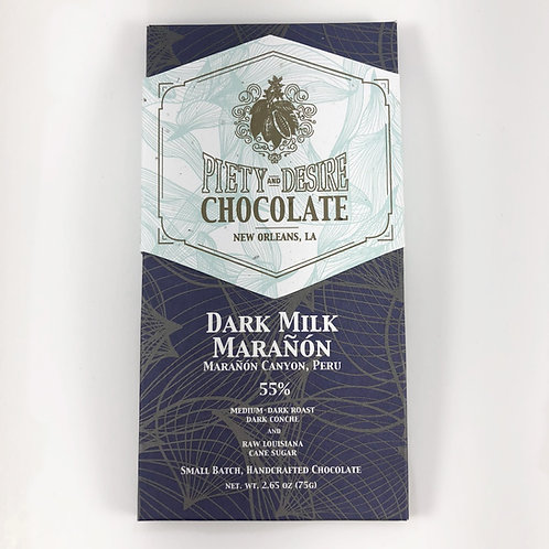 55% Dark Milk Marañón