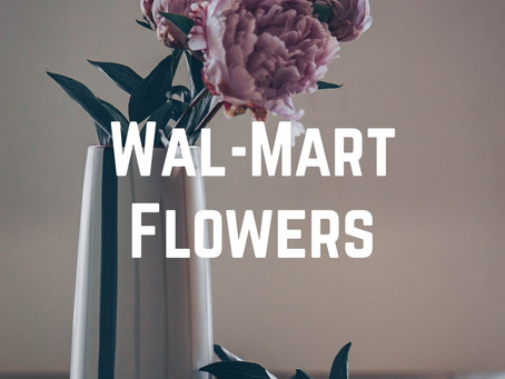 Wal-Mart Flowers