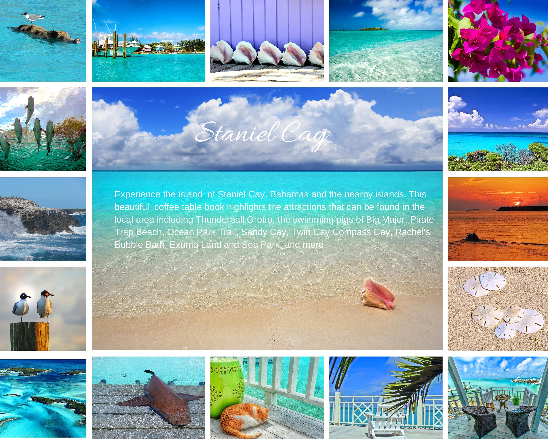 Exuma Cay and Staniel Cay Book Bahamas graphy book