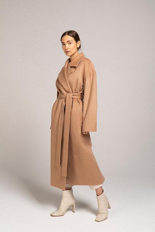 Пальто из шерсти c утеплителем