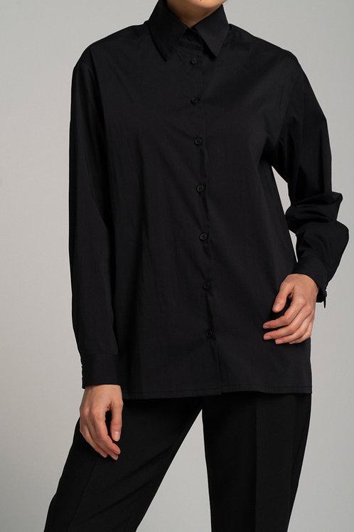 Рубашка мужского кроя из хлопка
