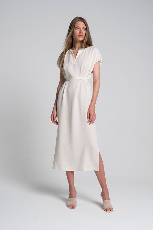 Платье-поло из тенсела