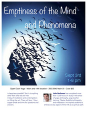 Emptiness of the Mind and Phenomena