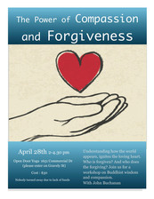 Workshop: The Power of Forgiveness and Compassion