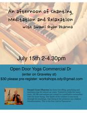 Workshop with Swami Gyan Dharma