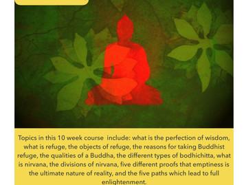 Philosophy Course 2: Buddhist Refuge