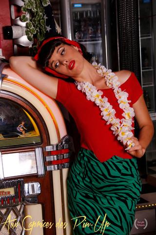 Mam'zelle Pin-up Photo
