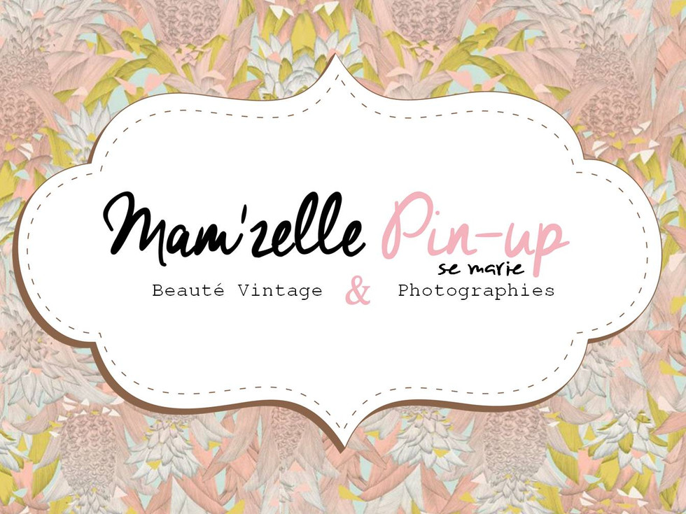 Photo Mariée Vintage Mam'zelle Pin-up