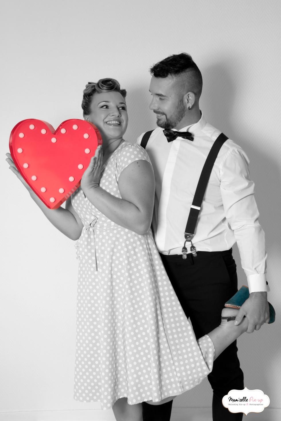 Future mariée Mam'zelle pin-Up