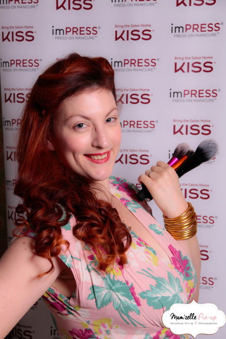 Kiss Products Bring the Salon Home Event Photo by Mam'zelle Pin-up