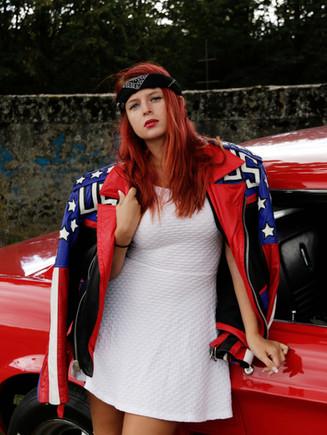 Séance photo rétro paris Mam'zelle Pin-up Maquillage coiffure vintage rockabilly année 50 EVJF Future Mariée