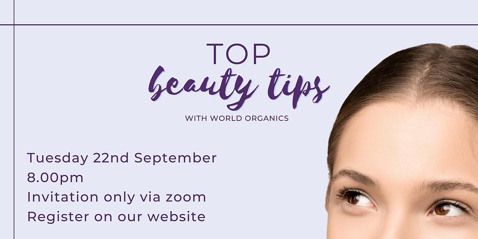Top Beauty Tips