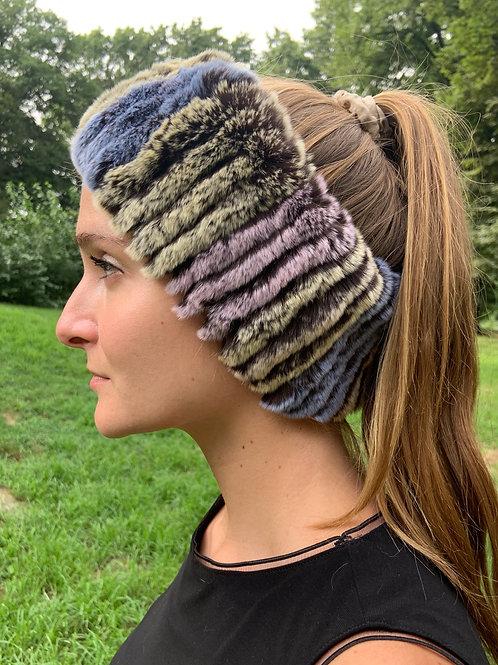Multi Color Fur Headband
