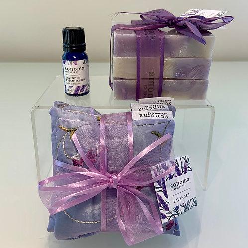 Lavender Set of Three